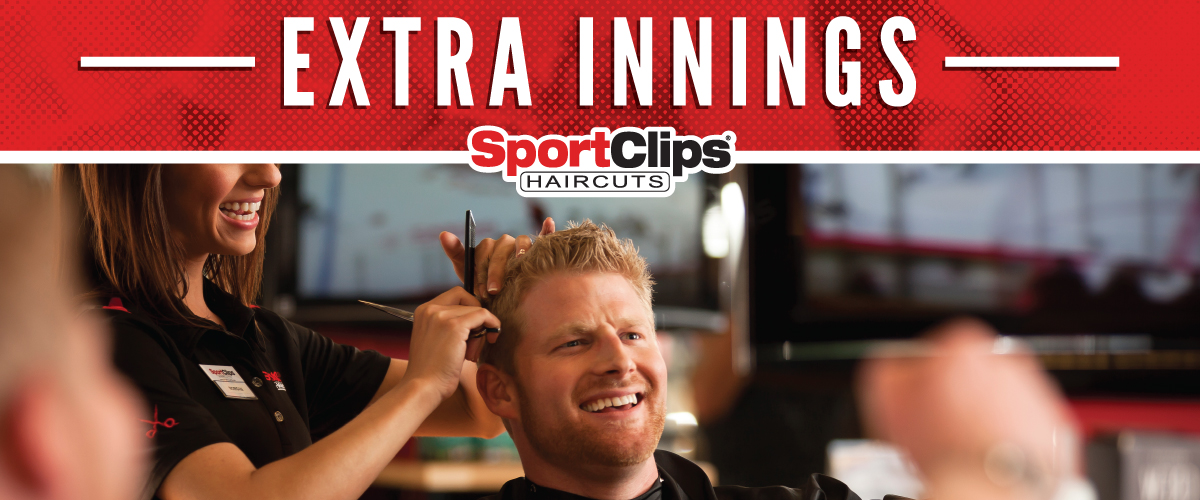 The Sport Clips Haircuts of Lexington  Extra Innings Offerings